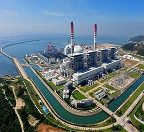 华能海门电厂#1-#4号机组4×1036MW烟气海水脱硫工程