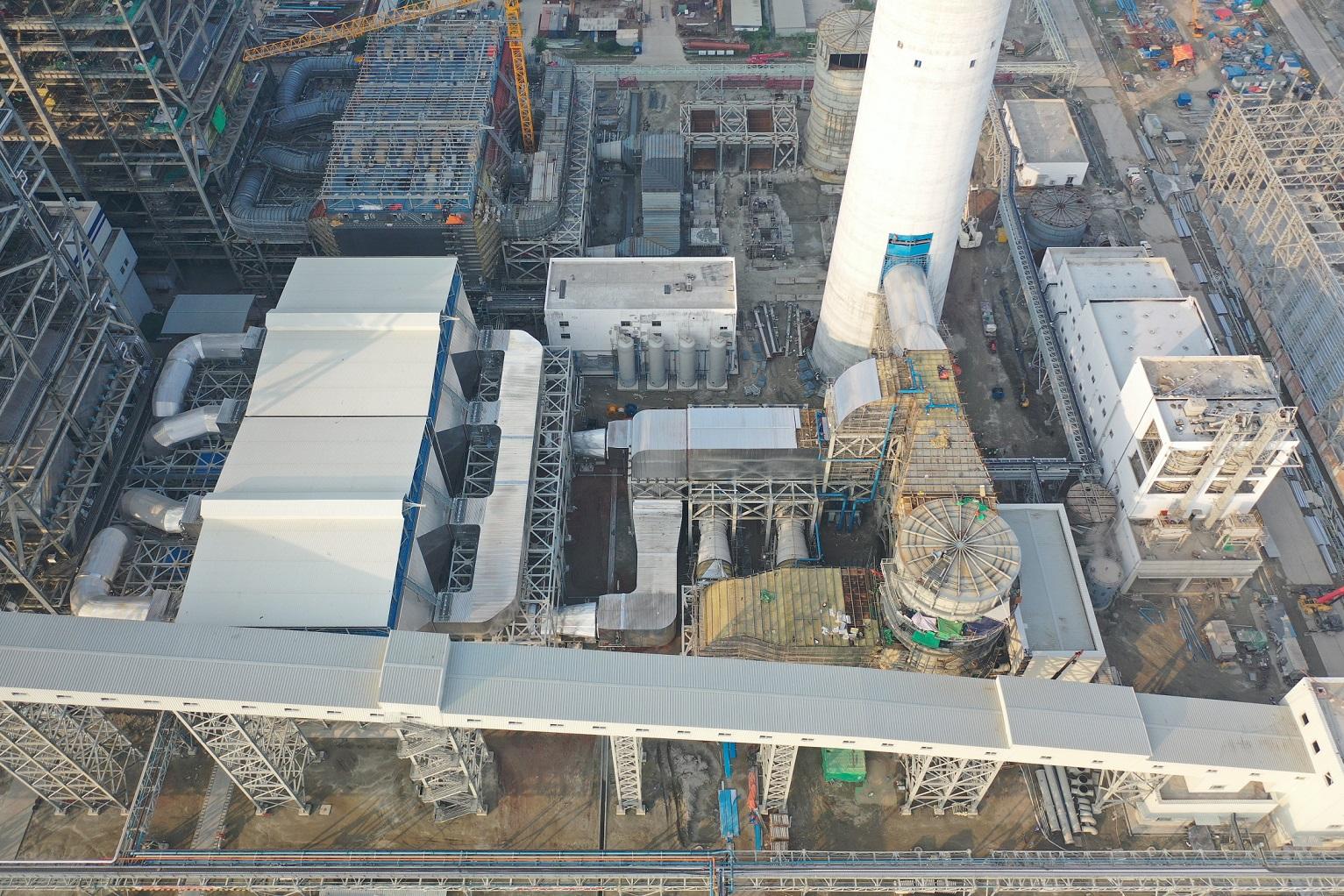 孟加拉帕亚拉超临界电厂一期2X660MW机组烟气脱硫工程
